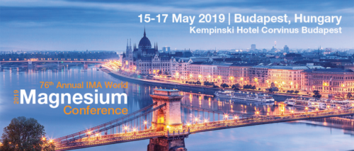 76th Annual IMA World Magnesium Conference May 2019